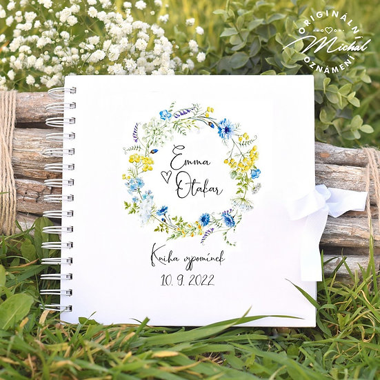 Svatební kniha hostů v pevných knižních deskách - 46