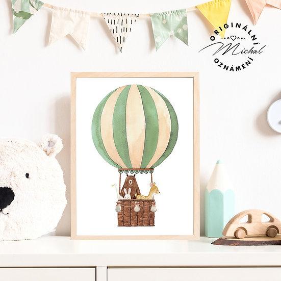 34 - Balón zelený