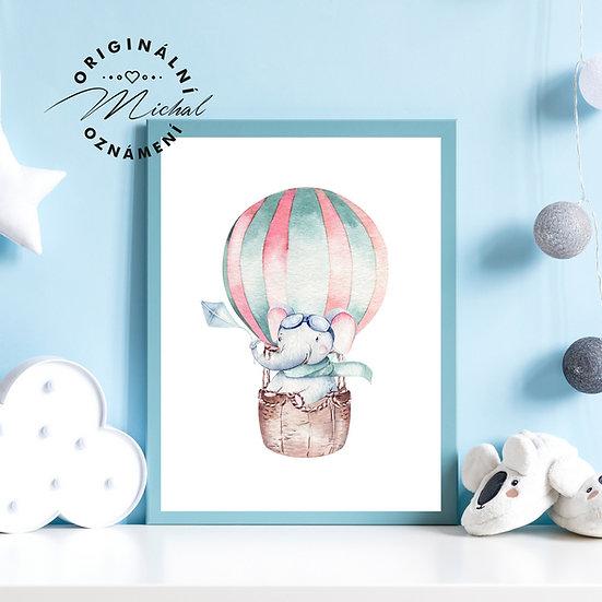 Plakát létající balón 2