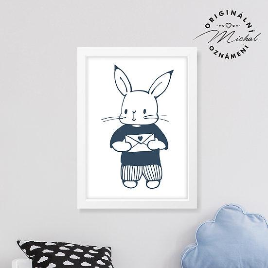 Zajíček Srdíčko – plakát