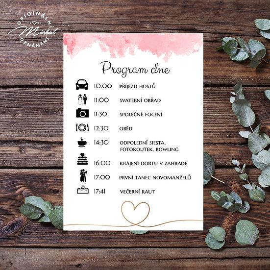Svatební program - P17