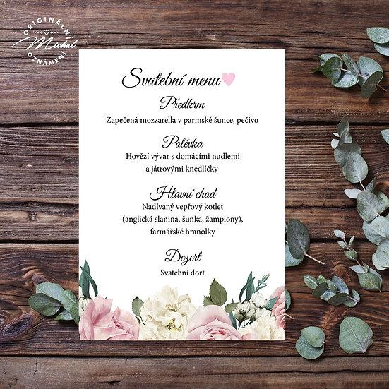 Svatební menu - TYP M05