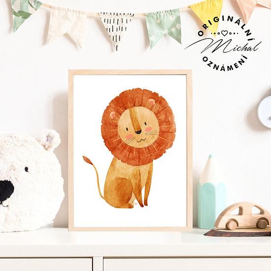 Plakát lvíček 2