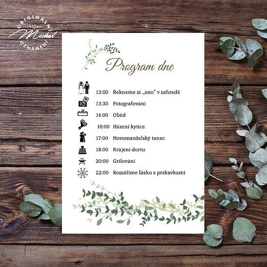 Svatební program - P04