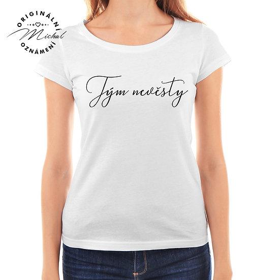 Svatební tričko s potiskem - D16