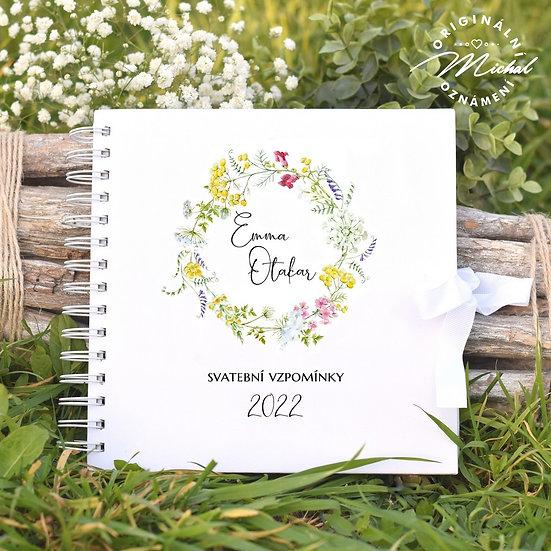Svatební kniha hostů v pevných knižních deskách - 47
