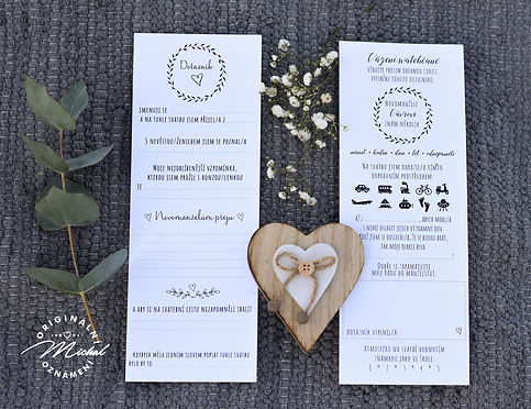 Svatební dotazníky