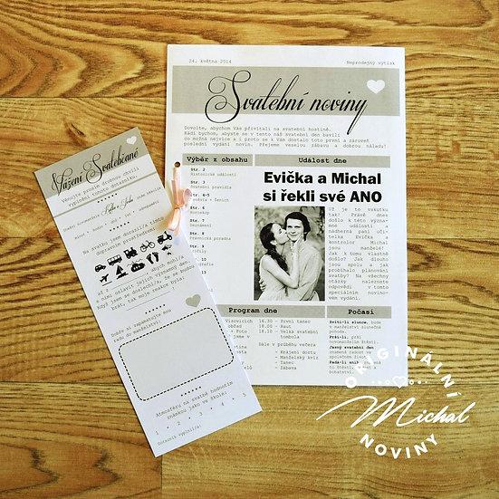 Svatební dotazník - TYP 01