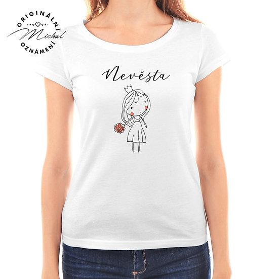 Svatební tričko s potiskem - D47
