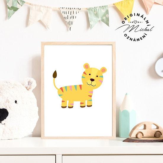 Plakát tygřík Ondřík