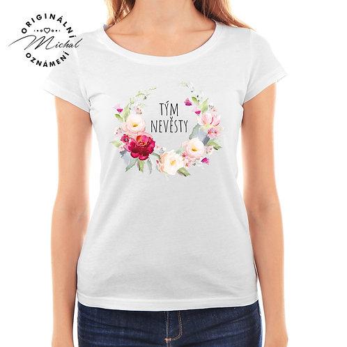 Svatební tričko s potiskem - D34
