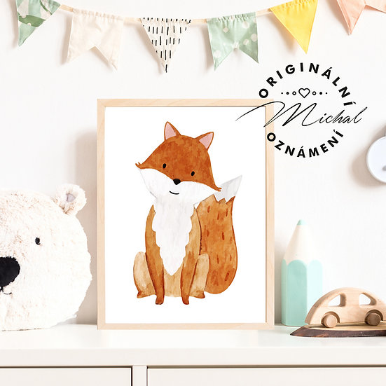 Plakát liška