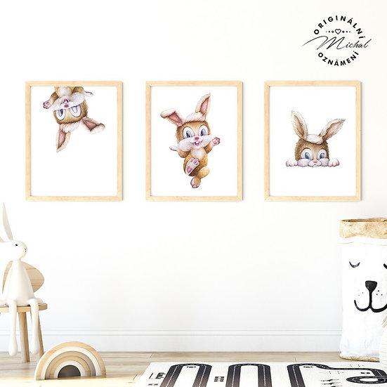 Plakát zajíčkové veselí