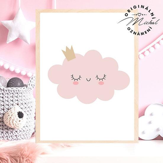 Plakát mráček princezna