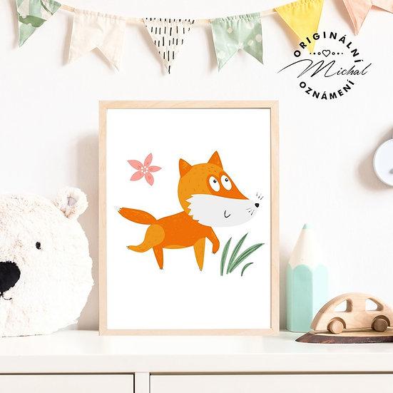 Plakát lišák liška Lesík