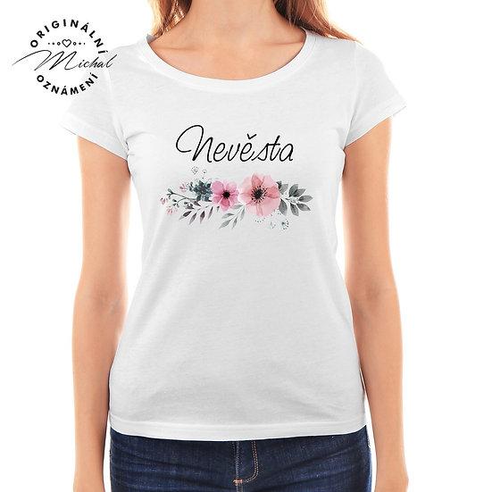 Svatební tričko s potiskem - D24