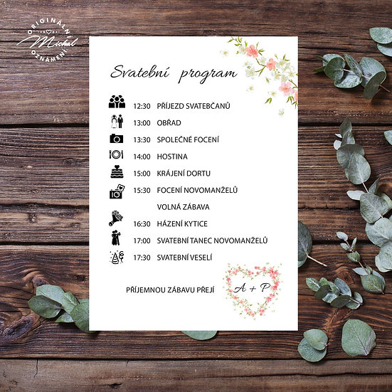 Svatební program - P07