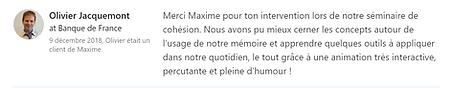 BANQUE DE FRANCE - Olivier JACQUEMONT -