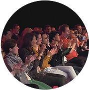 Maxime Tarcher applaudissements TEDx Ron