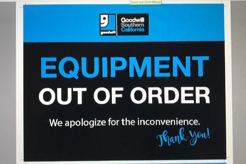 Out of Order, Not an Exit, Employees Only