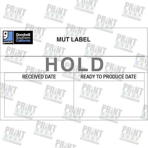 MUT Label