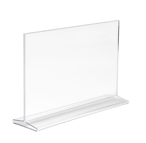 Acrylic Sign Holder Double-Sided 11x7