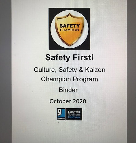 Safety, Emergency, and  SOP Books and  Binders
