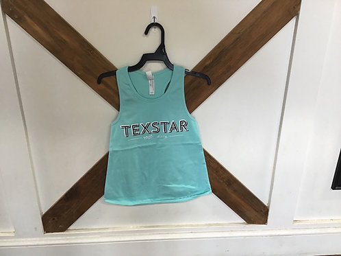 Youth baby blue tank top