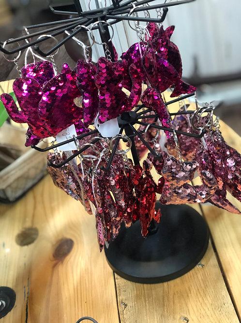 Sequin Keychains