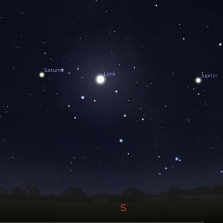 Alignement Lune-planètes-Antarès