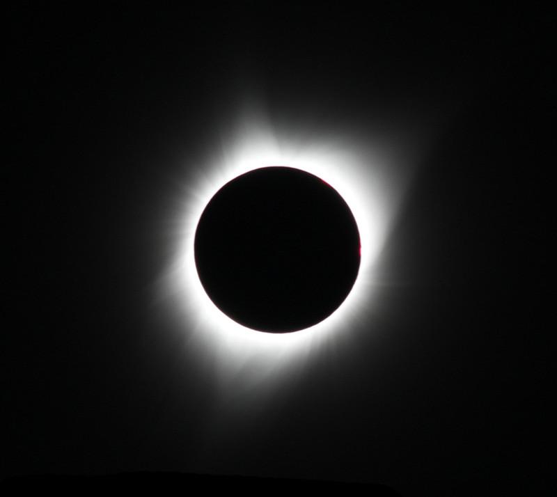 Eclipse totale de Soleil. Auteur Frédéric Charfi