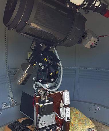 L'observatoire de Vaison côté sciences.... La photométrie des exoplanètes !