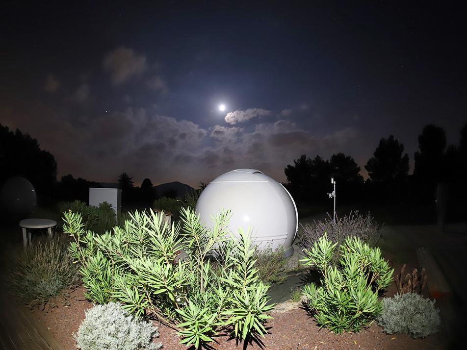Observatoire by night. Auteur Frédéric Charfi
