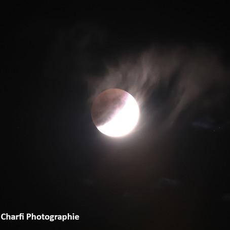 Retour sur l'éclipse partielle de Lune du 16 juillet 2019