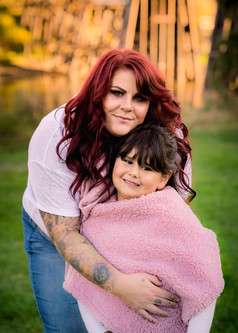 Mother and daughter in St.Albert