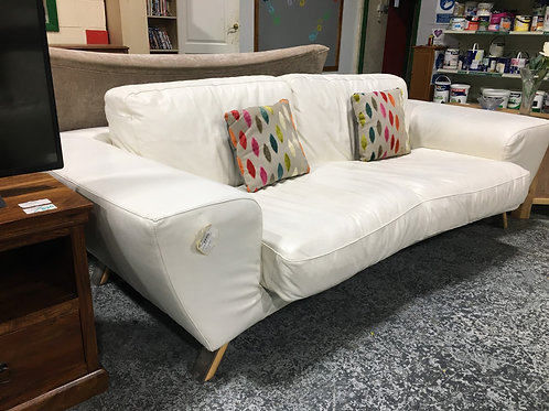 Sofa Leather cream
