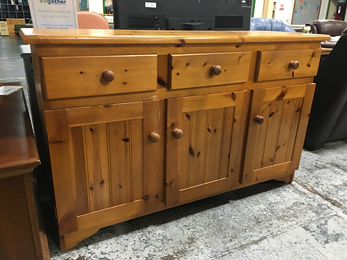 Sideboard Wooden Pine