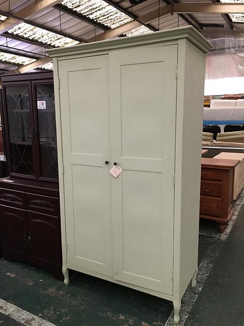 Wardrobe 2 door painted