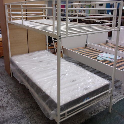 Metal Bunk Bed Frame (Mattress Not Included)