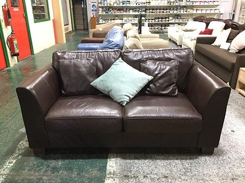 Sofa Leather Brown