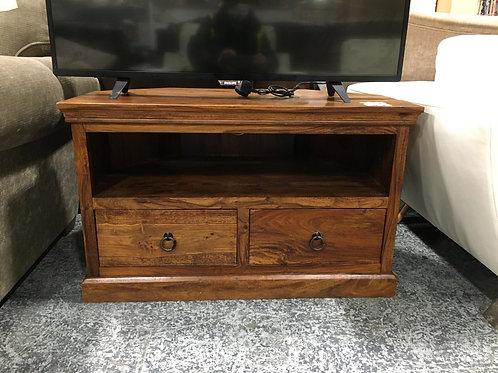 TV stand dark wood