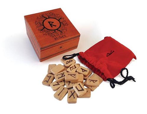 Deluxe Wooden Runes