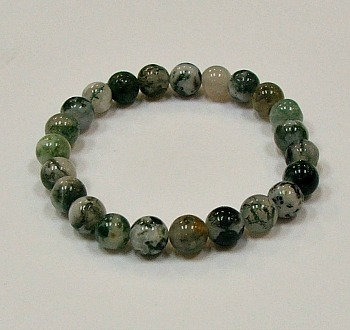 Tree Agate 8 MM stone bracelet