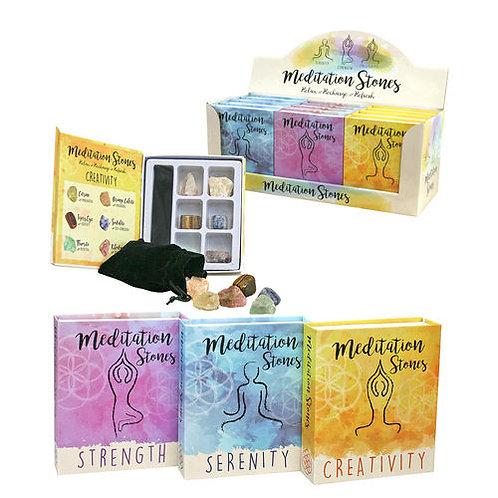 Meditation stone kit