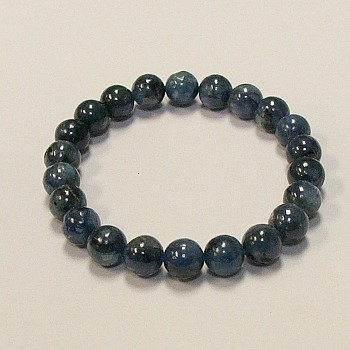 Kyanite, Blue 8 mm bead bracelet