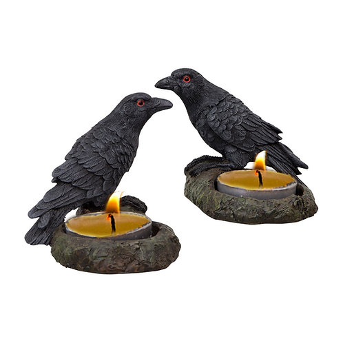 Raven T-light holders
