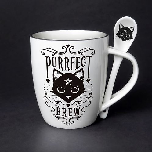 Purrfect Brew Cup