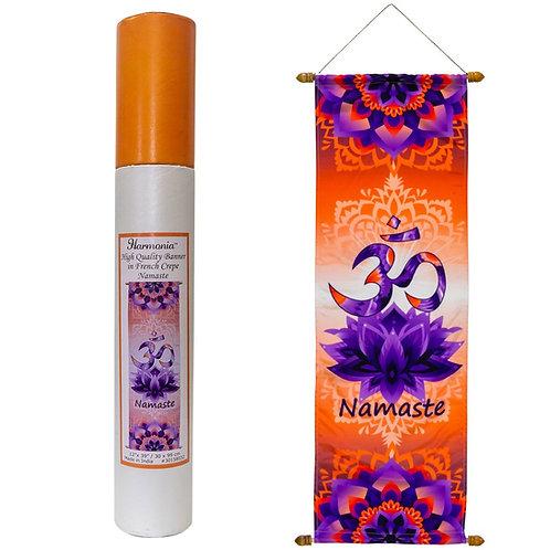 Om Namaste Banner