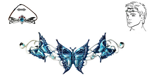 Needfire Butterfly Hengeband