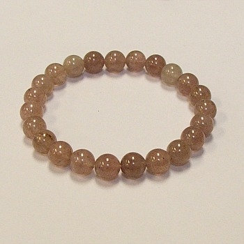 Strawberry Quartz 8 MM stone bracelet